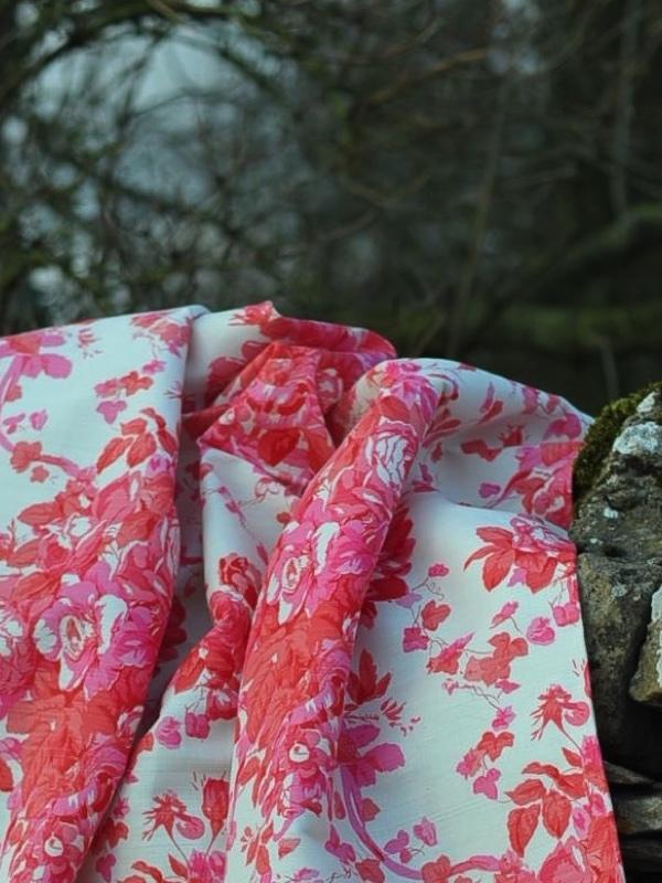 bennison roses shocking pink